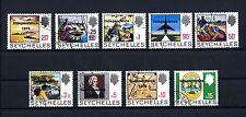 Seychellen 366/74 gestempelt Freimarken Aufdruck Independence 1976