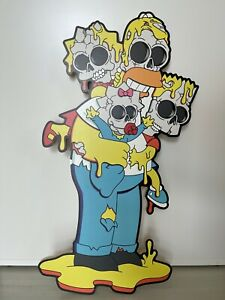 """Matt Gondek - """"Deconstructed Simpsons Nuclear Family"""" - Signed & Numbered"""