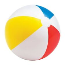 Bunter Wasserball Wasserball Strandball aufblasbarer Ball ca. Ø 51cm NEU OVP