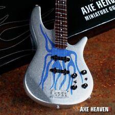 Robert Trujillo Blue Flame Bass Miniature Model Axe Heaven Officially Licensed