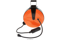 Rectractable Electric Cord Reel 30Ft 3 Outlets Heavy Duty Extension Cable Garage