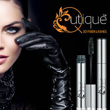 Qutique 3D Mascara Natural Fiber Extension Lashes Black -Alt to Fake Eyelashes