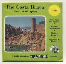 The Costa Brava Spain Belgium-made ViewMaster Packet C-240