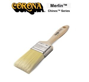 Corona Merlin Paint Brush Excellent Lift/ Lay Off Easy Clean Up Magical Finish