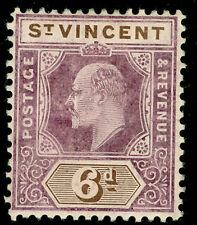 ST. VINCENT SG89, 6d dull purple & brown, LH MINT. Cat £16.