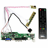 "TV HDMI VGA AV USB RF LCD Contorl Board For 8.9"" N089L6 B089AW01 1024X600 LCD"