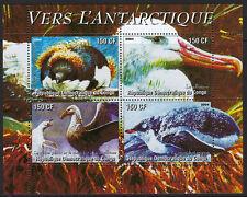 OISEAUX: Congo 2004 Vers l'antarctique Sheetlet-oiseaux neuf sans charnière