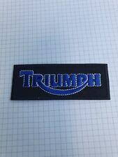 patch thermocollant brodé triumph L9,5 cm H3,5cm