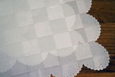 Manteles cuadrados color principal blanco