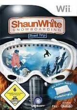 Nintendo Wii +Wii U SHAUN WHITE SNOWBOARDING ROAD TRIP * Top Zustand