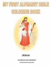 Alphabet Bible My First Coloring Book By Ollie Anderson