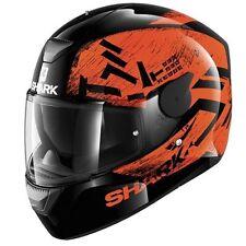 Shark Gloss Graphic Pinlock Ready Motorcycle Helmets