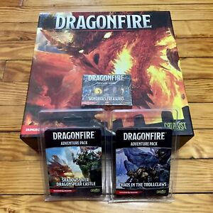 Catalyst Game Labs Dragonfire Board Game + 4 Expansions Bundle **NEW**