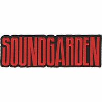 SOUNDGARDEN - BAND LOGO - EMBROIDERED PATCH - BRAND NEW - MUSIC 4589