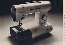 Publicité Advertising 016 1977 Omnia machine à coudre M12 (2 pages)