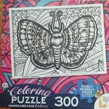 """LPF 300 Piece Coloring Puzzle,  18"""" x 24"""" New (opened box, but sealed)"""