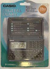 Casio Digital Diary 32KB To Do List, Telephone Directory, Memo, Clock, Etc. New