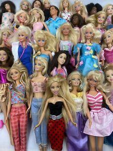 Huge Lot of Vintage Barbie Dolls  70s 80s 90s 2000s Plus Clothes CLOTHES!!!