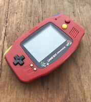 Nintendo Gameboy Advance GBA AGB-001 Black Handheld Gaming Console Mario Brother