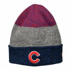 CHICAGO CUBS NEW ERA MLB (CONTAINER) SPORT KNIT CUFF BEANIE CAP HAT NWT b10f794aa658