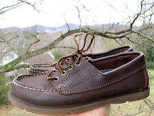 BASS g.h The Timberland Casual Leather Moccasins LOAFERS OXFORDS Boys Shoes Sz 2