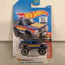 Chevy Blazer 4x4 #34 * Blue * 2017 Hot Wheels FACTORY SET Edition