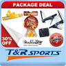 PACKAGE DEAL-DOUBLE STAR TABLE TENNIS 1 PAIR OF RACKETS+NET+6 1-STAR BALLS