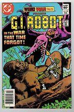WEIRD WAR TALES #120 - G.I. ROBOT - ROSS ANDRU COVER -  FRED CARRILLO ART - 1983