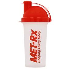 MET-RX SHAKER 700 ML/PROTEIN POWDER MIXER SPORTS BOTTLE **FAST FREE SHIPPING***
