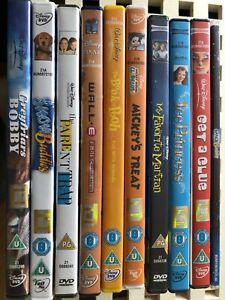 job lot  of 10 DISNEY DVD movies