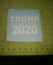 DONALD TRUMP 2020 Campaign President Election Decal Die Cut Sticker Car Bumper