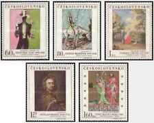 Timbres Arts Tableaux Tchécoslovaquie 1601/5 ** lot 23999