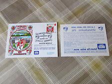 Bournemouth 1987 PRIMA CASA GIOCO nella Divisione 2 UFFICIALE CALCIO SERIE COVER