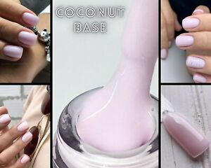 NailApex Coconut Milk Base Cover Camouflage Base Coat Pink Gel Nail Art