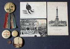 1907 Indianapolis,Indiana President Teddy Roosevelt 7 piece set including badge!