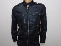 Giubbino originale JOHN RICHMOND uomo size 46 man jacket black 9625