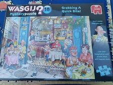 Wasgij Mystery Puzzle 18 - 1000 pieces - Grabbing a Quick Bite