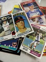 NOLAN RYAN LOT Texas Rangers 30+ Cards Refer To Pictures And Read.