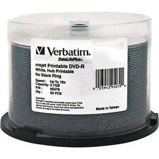 Verbatim DataLifePlus 16x DVD-R Media 4.7GB 50-Pack Spindle