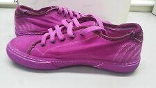 PANTOFOLA D'ORO SNEAKERS CANVAS TN36 FUXIA 40 ANEMONE FLUO UNISEX UOMO DONNA