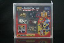 Takara Transformers Encore EN-10 Minibots [AFA 90]