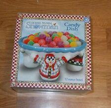 Boston Warehouse Trading Corp. Debbie Mumm Snowman Candy Dish - 75608