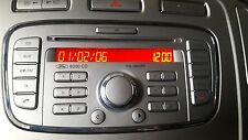 FORD MONDEO MK4 6000CD Radio CD Player Stereo  8S7T-18C815-AA Codes Not Included
