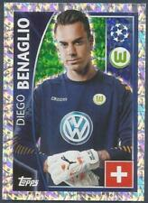 TOPPS CHAMPIONS LEAGUE-2015-16 #135-VFL WOLFSBURG-DIEGO BENAGLIO-SILVER FOIL
