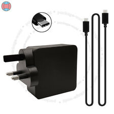 65 W USB-C Adaptateur Chargeur Compatible Lenovo 01FR028 avec UK Plug Dcuk