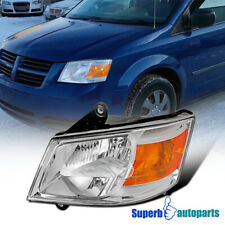 For 2008-2010 Dodge Grand Caravan Headlight Lamp Driver Left Side Replacement