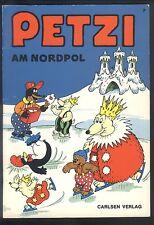 Petzi Nr.7 Am Nordpol - TOP Z1 CARLSEN COMICHEFT von Carla + Vilhelm Hansen