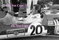 Graham Hill Gold Leaf Team Lotus 48 Vallelunga F2 1968 Photograph