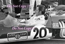 Graham Hill Gold Leaf Team Lotus 48 Vallelunga F2 1968 Photograph