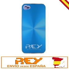 """Carcasa Aluminio para IPHONE 4 4S , Color AZUL,  """"ENVÍO DESDE ESPAÑA""""  i39"""